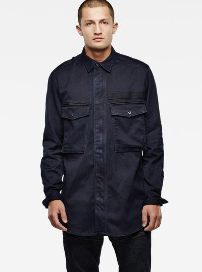 Type C Straight Long Zip Shirt