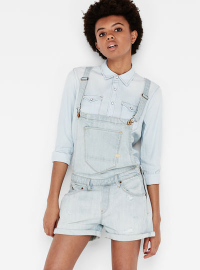 Arc Boyfriend Short Overall