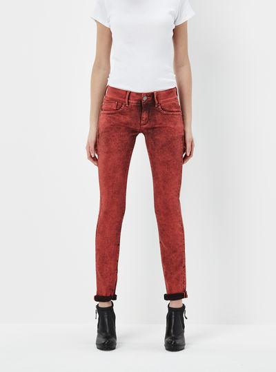 Lynn Skinny Mid Waist Colour Jeans
