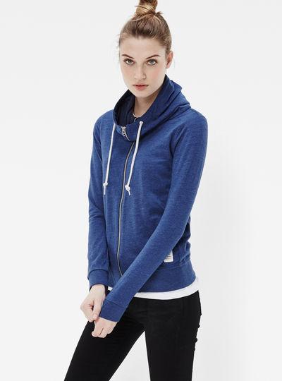 Ribelon Slim Hooded Sweater