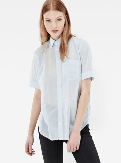 Core Boyfriend Pocket Shirt