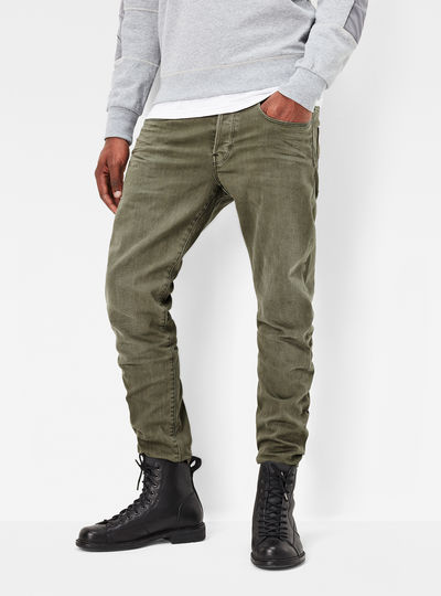 3301 Tapered Color Jeans