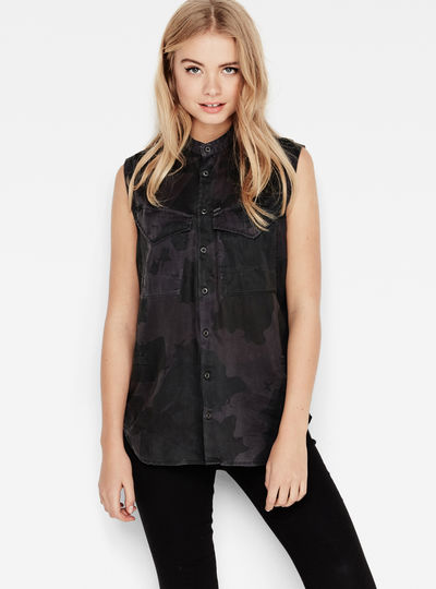 Rovic Crusader Boyfriend Sleeveless Shirt