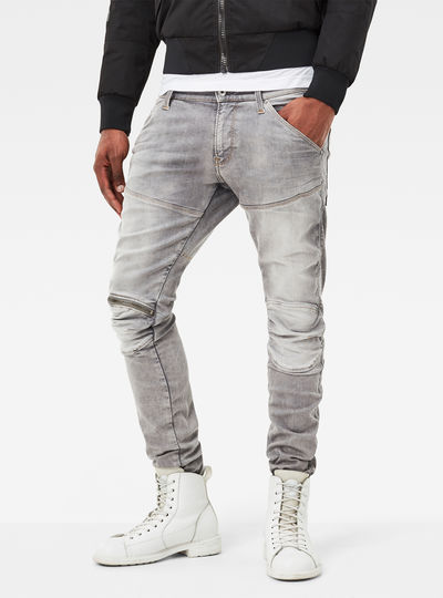 5620 G-Star Elwood 3D Zip Knee Super-Slim Jeans