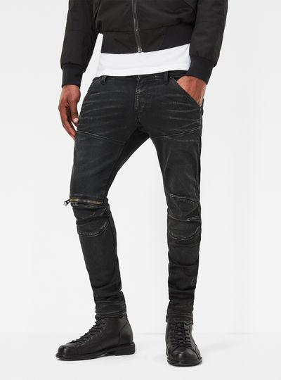 5620 G-Star Elwood 3D Zip-Knee Super Slim Jeans