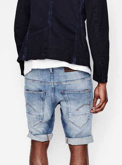 Arc 3D Tapered 1/3 Length Shorts