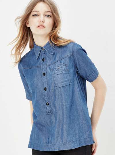RAW Utility Boyfriend Shirt