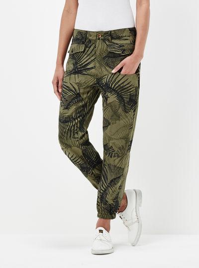 Army Radar Loose Tapered Pants