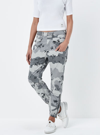 Army Radar Loose Cropped Pants