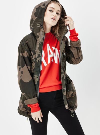 Ospak Clean Hooded Jacket