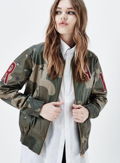 Sports Zip AW Bomber Jacket