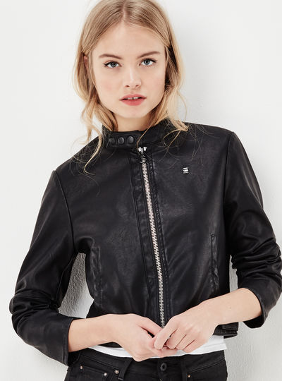 Chopper Clean Cropped Jacket