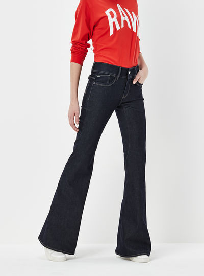 Lynn High Waist Flarestream Jeans