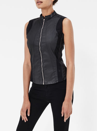 Lynn Zip Super Slim Shirt