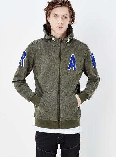 Warth Hooded Zip Sweater