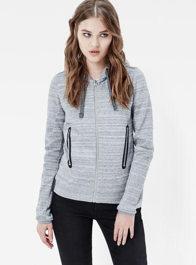 Verdah Slim Hooded Zip Sweater