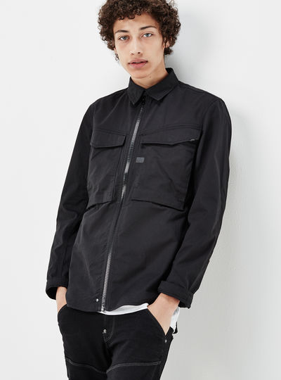 Vodan Zip Overshirt