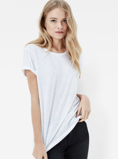 Silber Straight T-shirt