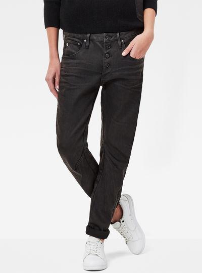 Arc 3D Button Low Waist Jeans