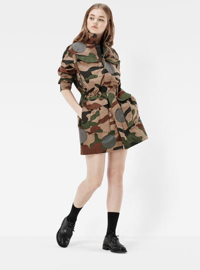 Rovic CR Boyfriend Field Jacket