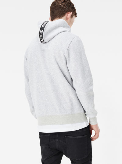 Core Zip Hooded Sweater