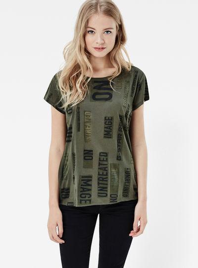 Sepeke Straight Art T-Shirt