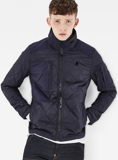 Powel Quilted Overshirt