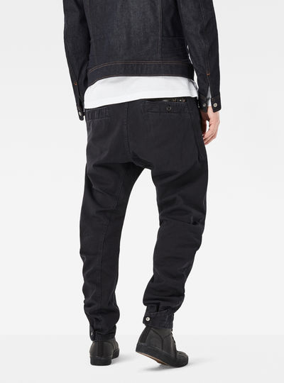 Bronson Zip Tapered Cuffed Pants