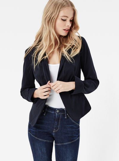 women jackets blazers g star uk site. Black Bedroom Furniture Sets. Home Design Ideas