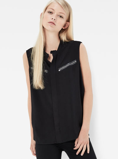 Road Boyfriend Sleeveless Shirt