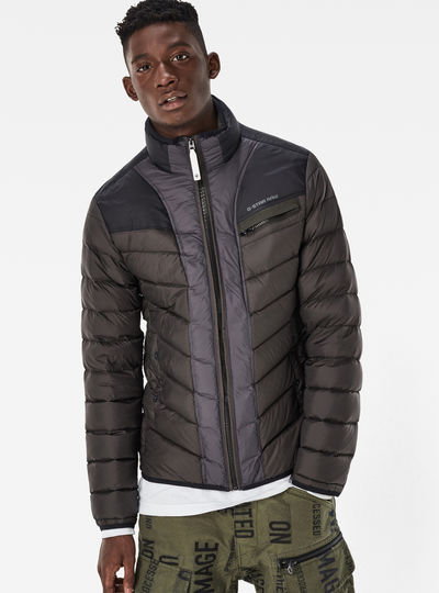 Attacc Down Colorblock Jacket