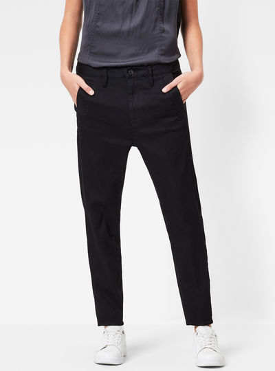 Bronson Low Waist Boyfriend Chino