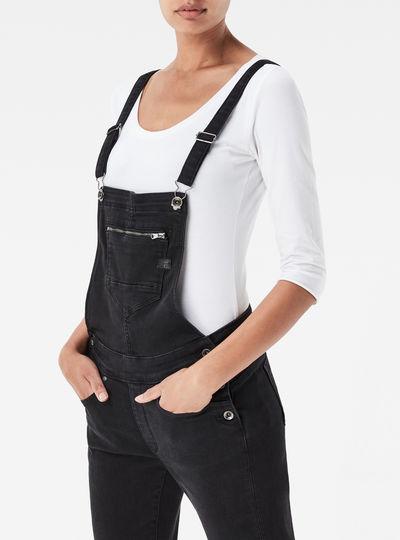 Midge Slim Overall Jeans
