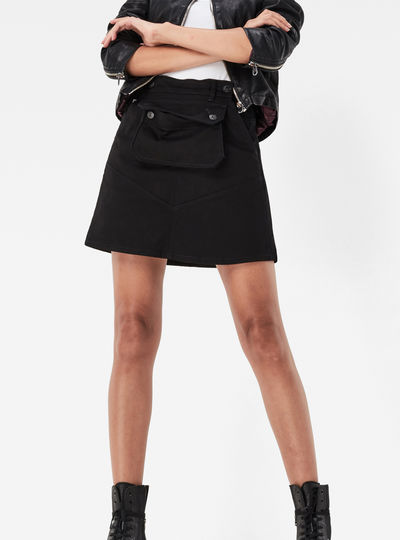 5621 Pouch A-line Skirt