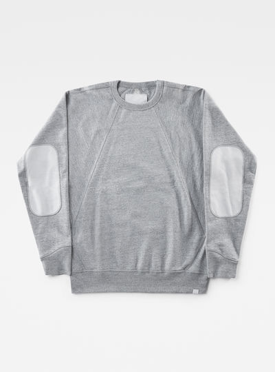 Marc Newson Leather Patch Sweater