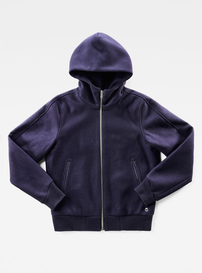 Marc Newson Wool Hooded Jacket