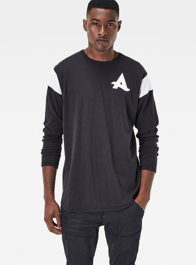 Afrojack Baseball Long T-Shirt