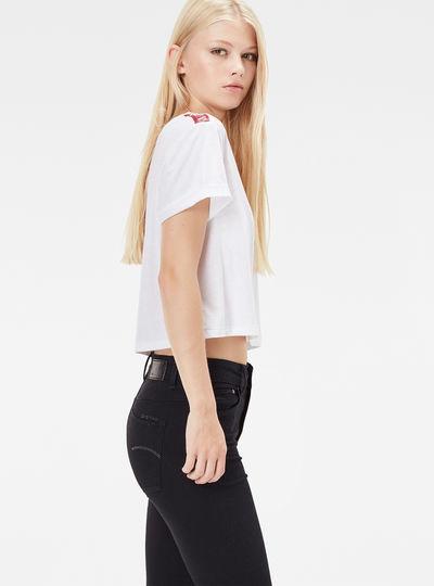 Eva Shaw Cropped T-Shirt