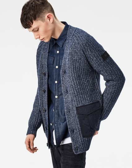Rovic Heavy Cardigan Knit