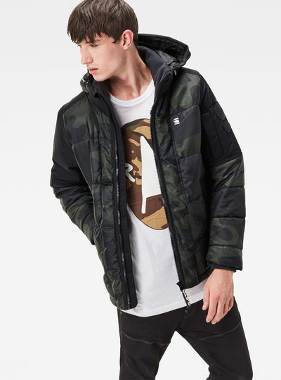 Whistler Hooded Camo Jacket