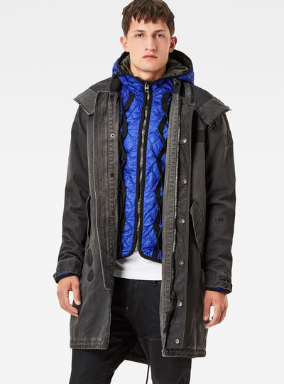 Submarine Hooded Liner Parka