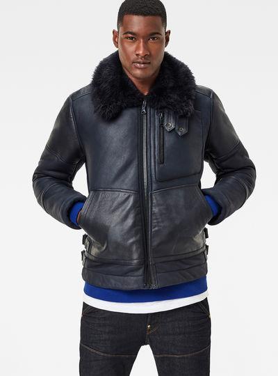 Premium Air Defence Shearling Jacket