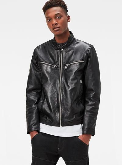 Mower Leather Jacket