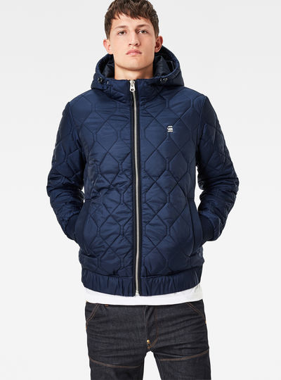 Meefic Quilted Hooded Overshirt