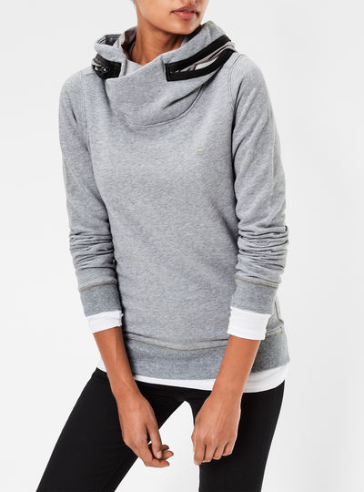 Moemi Slim Hooded Sweater
