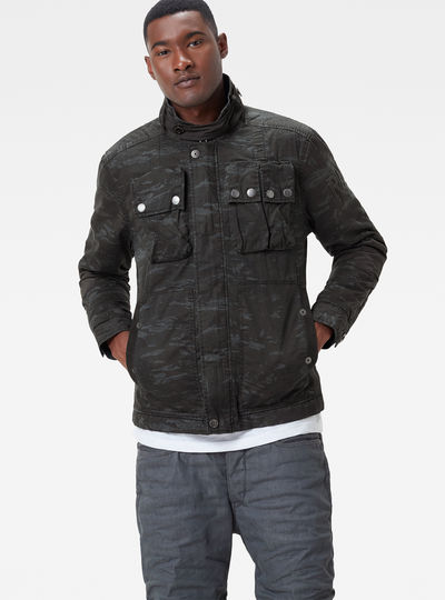 Ospak Quilted Overshirt