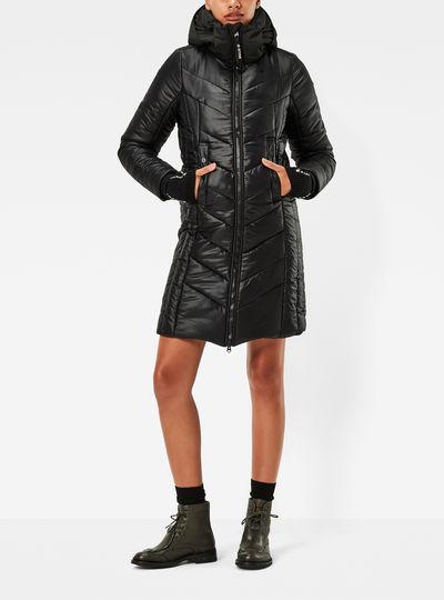 Alaska Hooded Long Jacket