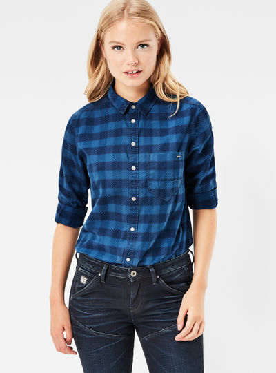 Arc Boyfriend Cropped Shirt