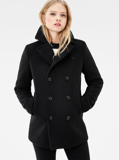 Pea Wool Coat