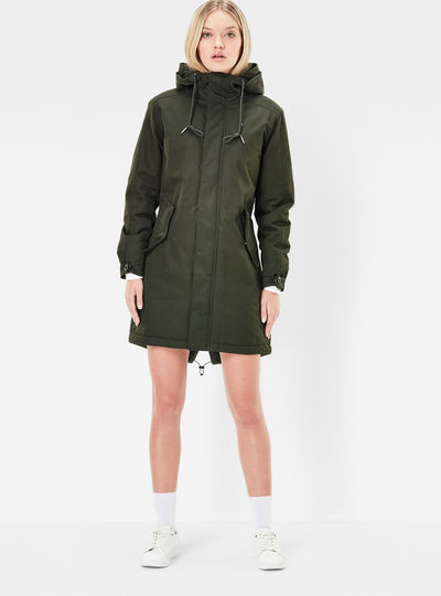 Rovic Hooded Boyfriend Parka
